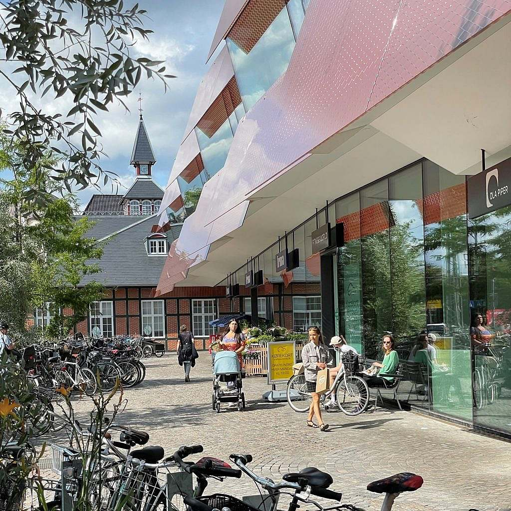 Østerport 2 ved Oslo Plads - kontorbyggeri med innovativ arkitektur