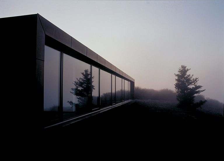 Jens Bangs gæstehus i landskabet