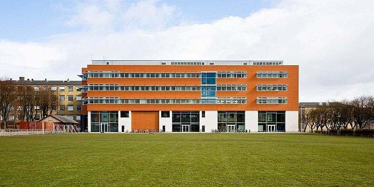Arkitekturen udefra Institu for Idræt