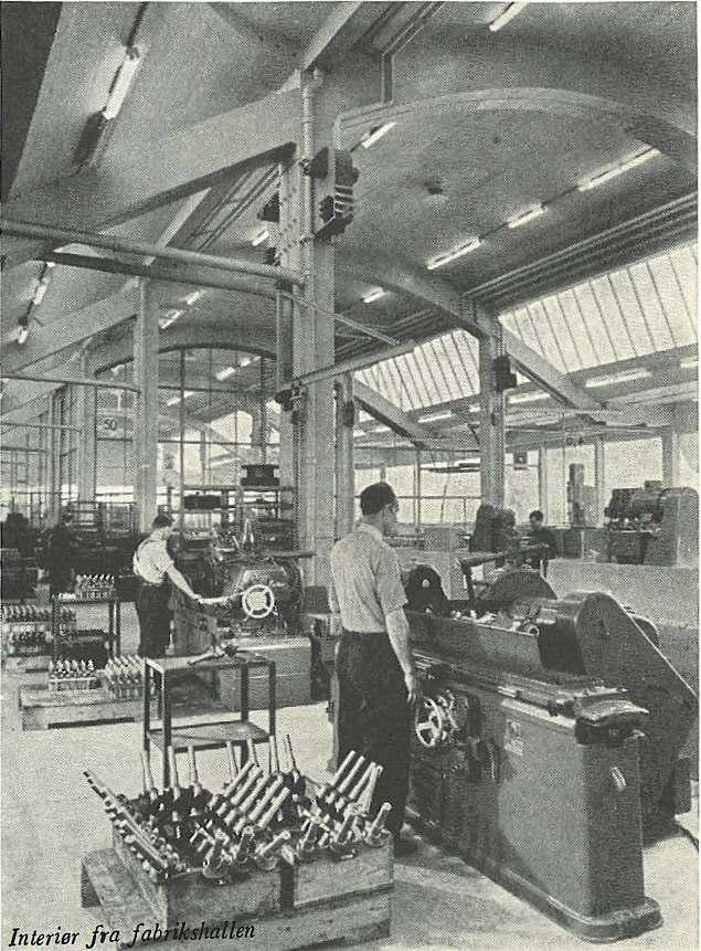 Maskinfabrikken Atlas i Arkitekten - interiør