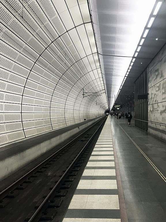 Trianglen station interior architecture