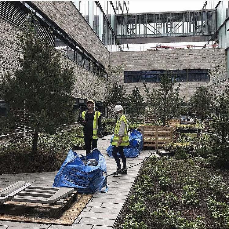 Baustelle Haukeland Krankenhaus