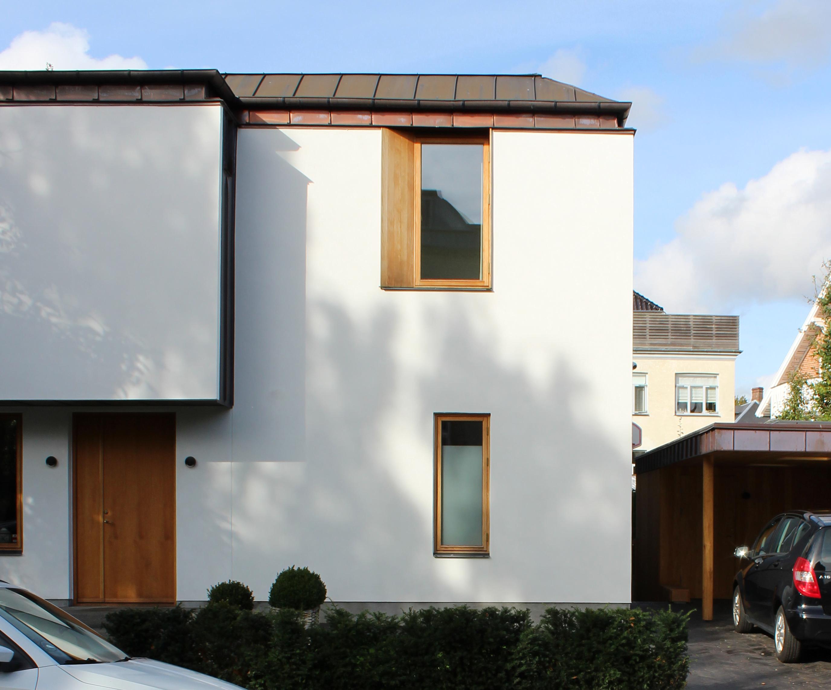Ceresvej - Fassadendetail einer privaten Villa